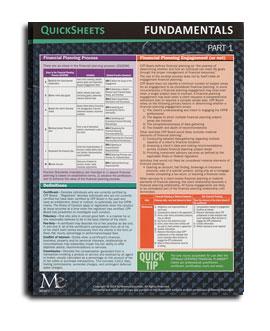 Fundamentals QuickSheets (2020)