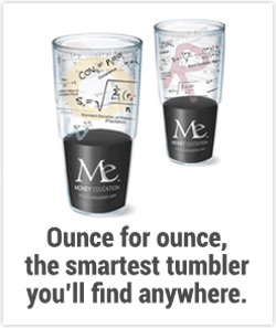 Money Education Tumbler